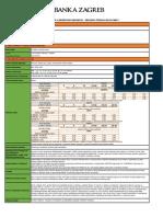 Opce Informacije o Uslugama - Premium Stednja Plus Paket - 26-03-2019