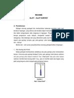 Resume Alat - Alat Survey