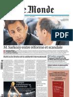 Le Monde - Mardi 13 Juillet 2010