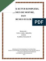 Analisis Kompleks (Bentuk Kutub, Rumus De Moivre, dan Rumus Euler).docx