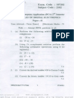 Bca question paper