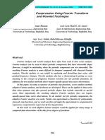 Digital Image Compression Using Fourier Transform