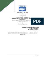 Bhel training report mechanical