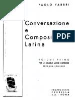Fabbri - Conversazione e Composizione Latina 1
