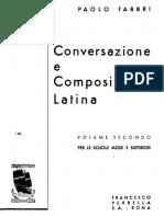 Fabbri - Conversazione e Composizione Latina 2