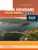 Kota Kendari Dalam Angka 2016