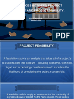PROJECT FEASIBILITY AND VIABILITY
