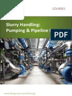 Slurry Handling Course Brochure