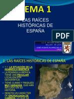 Las raices historicas de espana