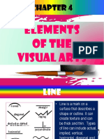 Hum 1- Chapter 4 Elements of Visual Arts