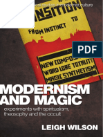 [Edinburgh critical studies in modernist culture] Wilson, Leigh - Modernism and magic _ experiments with spiritualism, theosophy and the occult (2013, Edinburgh University Press).pdf
