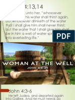 The Woman at the Well Presentation