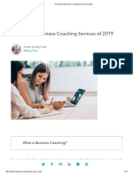 The 22 Best Business Coaching Services of 2019