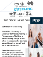 Discipline of Counselling