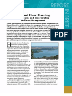Missouri River Planning Report in Brief