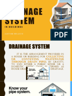 Drainage System in a Building