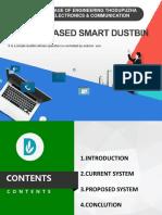 Smart Dustbin  Presentation