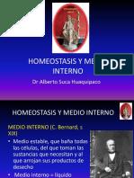 1. Homeostasis y Medio Interno