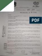 Decreto Las Heras