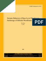 Seismic Behavior of Base-Level Diaphragm