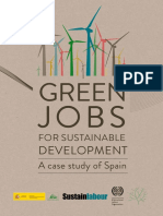 Green jobs for Sustainable Development A case study of Spain. (Sustainlabour, 2012)