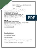 SANJAY GANDHI NATIONAL PARK BORIVALI-2016.pdf