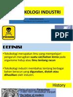 TOKSIKOLOGI INDUSTRI dr.Ratna.ppt