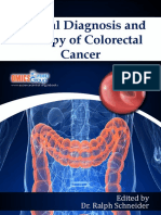 Clinical Diagnosis and Therapy of Colorectal Cancer