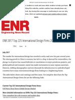 ENR 2017 Top 225 International Design Firms 201-225