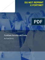 FortiGate Security 6.0 Lab Guide v2