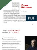 Juan Gelman in-Italia