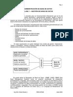 Clase 1 - Gestión de Base de Datos