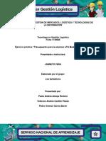 """Ejercicio práctico """"Presupuestos para la empresa LPQ Maderas de Colombia.docx"""