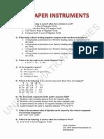 Test Paper Instruments