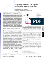Maximum leaf conductan cedriven by CO2 effects
