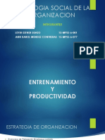 Entrenamiento y Productividad
