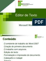 Aula 05_1 - EditorTextoWord