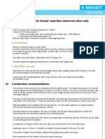 Specification Text Residential