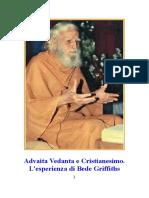 Advaita Vedanta e Cristianesimo - l'Esperienza Di Bede Griffiths - Anonimo