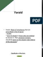 Faraid-law of succession