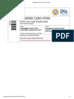Airlangga Career Fair Online Ticketing