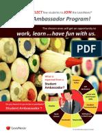 Student Ambassador Programme 2018