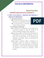Preguntas Selectas Sobre Didactica de Las Matematicas Ccesa007