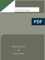 Depresion and Sensation