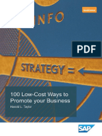 100 Low Cost Ways to Promote Your Business