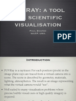 POV-Ray a Tool for Scientific Visualisation (Paul Bourke)