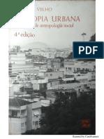 A Utopia Urbana-Gilberto Velho