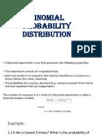 Binomial, Poisson, Hypergeometric Probability Distribution