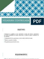 VOLADURA CONTROLADA