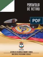 Portafolio retiro militares armada de Colombia